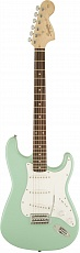 FENDER SQUIER AFFINITY SERIES STRATOCASTER LAUREL FINGERBOARD SURF GREEN