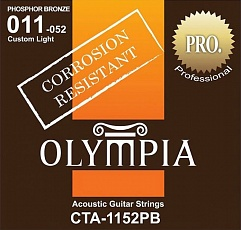 OLYMPIA CTA1152 Coated 80/20 Bronze Wound 11-52