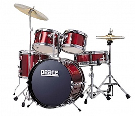 PEACE DP-16JR-5 WINE RED