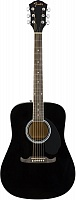 FENDER FA-125 Dreadnought Black WN