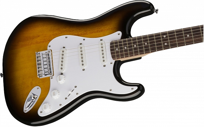 FENDER SQUIER Bullet Stratocaster Hard Tail, Brown Sunburst