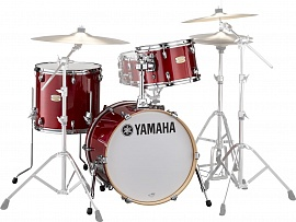 YAMAHA Stage Custom Bop Kit SBP8F3 Cranberry Red