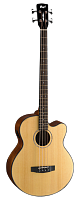 CORT AB850F-NAT-BAG Acoustic Bass Series