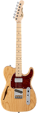 G&L Tribute ASAT Classic Bluesboy Semi-Hollow Natural Ash MP
