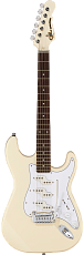 G&L Tribute Comanche Olympic White Jatoba