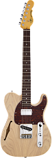 G&L Tribute ASAT Classic Bluesboy Semi-Hollow Blonde Jatoba