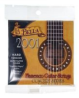 2001 Flamenco, Concert Series, Black Nylon, Silver-Plated, 29-32-40-29-37-45, сильное натяж