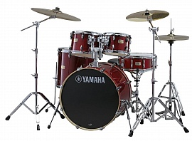 YAMAHA Stage Custom Birch SBP2F5 Cranberry Red