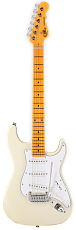G&L Tribute Legacy Gloss White MP Poplar